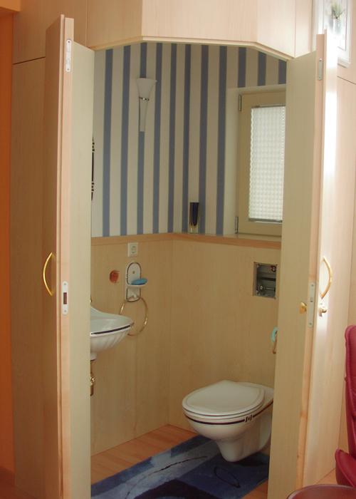 Nische Toilette