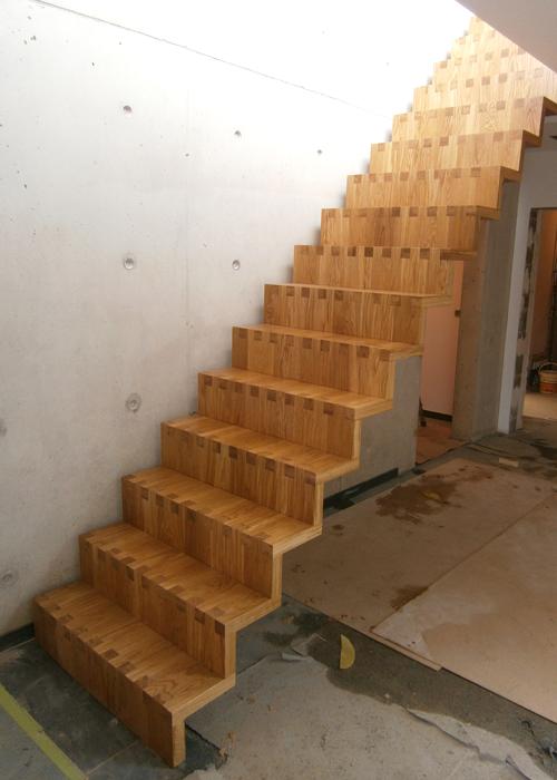 Treppe Freihängend