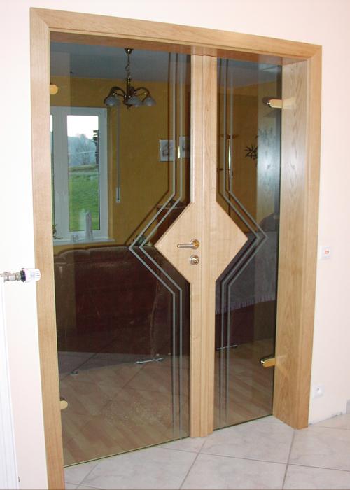 Zimmertür Doppelglas